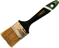 """Кисть флейцевая, тип Английская, натуральный ворс,пластиковая ручка 1,5"""" HTtools (кисти малярные)"""