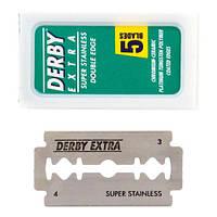 Derby Extra Double Edge Razor Blades Двусторонние лезвия 100 шт