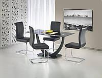Стол  стеклянный ANTON Halmar 140*80