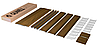 Откосная система Qunell орех К250 18-22 (откосы Кюнель)
