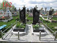 Памятник двойной с полотенцем
