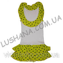 Летнее платье Умничка на рост 86-92 см - Кулир