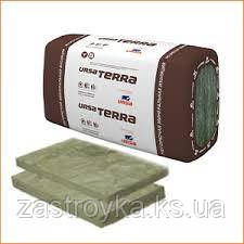 Утеплитель URSA TERRA 34 PFB Фасад, 4,5 кв.м 1250х600х100 мм