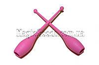 Булава гимнастическая 41см, Розовый