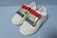 Детские кроссовки SSTXIE бело-синие (219) код 0586А