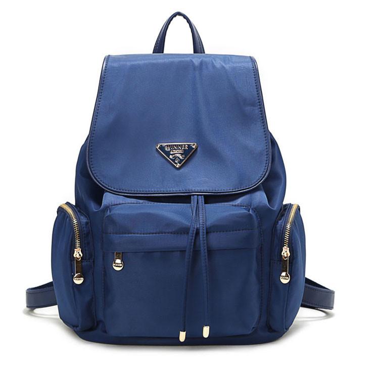 Городской рюкзак женский Winner. Модные рюкзаки. Черный, синий и фиолетовый  цвет. acb23248b61