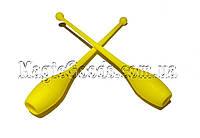 Булава гимнастическая 41см, Желтый