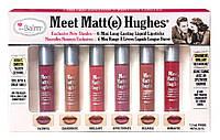 набор матовых помад Meet Matte Hughes® Set of 6 Mini Long-Lasting Liquid Lipsticks  от The Balm