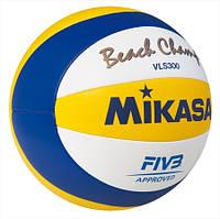 Мяч пляжный волейбол Mikasa VLS 300