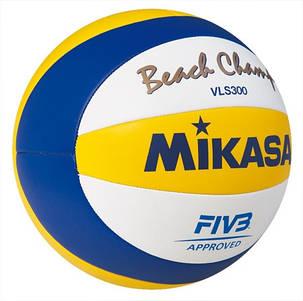 Мяч пляжный волейбол Mikasa VLS 300, фото 2