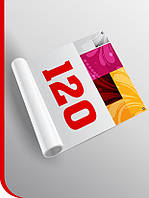 Печать постера для Х-баннера паук 1,2х2 м