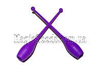 Булава гимнастическая 41см, Фиолетовый