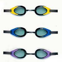 Очки для плавания Intex 55685 с защитой от ультрафиолетовых лучей,от 14 лет.