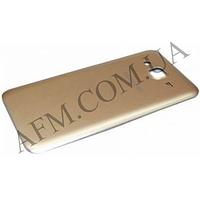 Задняя крышка Samsung J700H/  DS Galaxy J7 золотая