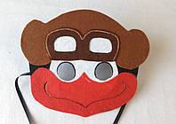 Карнавальная маска Пин для сюжетно ролевых детских игр Смешарики