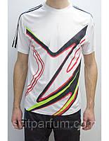 Мужская футболка Adidas из полиэстера, весна одежда, футболки дешевые цены