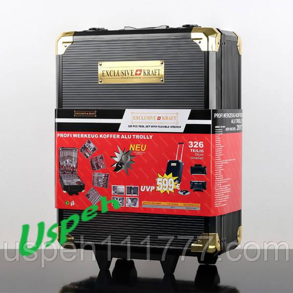 Набор инструментов Exclusive kraft 326 Gold