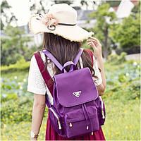 Городской рюкзак женский Winner. Модные рюкзаки. Черный, синий и фиолетовый цвет. Фиолетовый