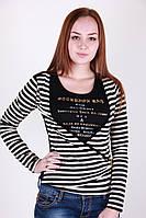 Блуза 1235 (черный)