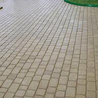 Тратуарная плитка Золотой мандарин Старый город  Серая нагрузка:4 см(94 кг/м2) Область применения: пешеходная зона