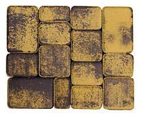 Тратуарная плитка Золотой мандарин Старый город Латина новинка колормикс нагрузка:4 см(94 кг/м2)Область применения: пешеходная зона