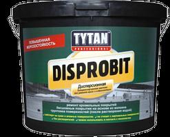 Мастика для легкой гидроизоляции битумно-каучуковая  Tytan  Disprobit , 5 кг 5 кг