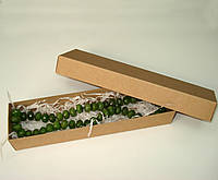Коробка подарочная из крафт картона, 200х50х30 мм.