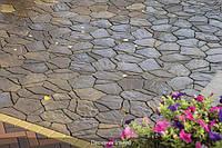 Тратуарная плитка Золотой мандарин Песчаник Генуя нагрузка: 6 см(141 кг/м2)Область применения:  велосипедная дорожка, легковой транспорт