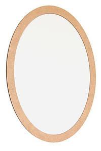 Полотно на картоні, овальне, 40*50 см, в багетній рамі з МДФ 2,5см, ROSA Talent