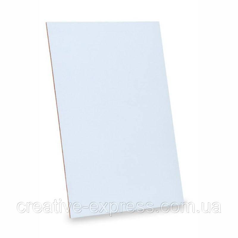Картон грунтований, 50*70 см, 3 мм, гладка фактура, акрил