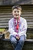 Вышиванка для мальчика с длинным рукавом.