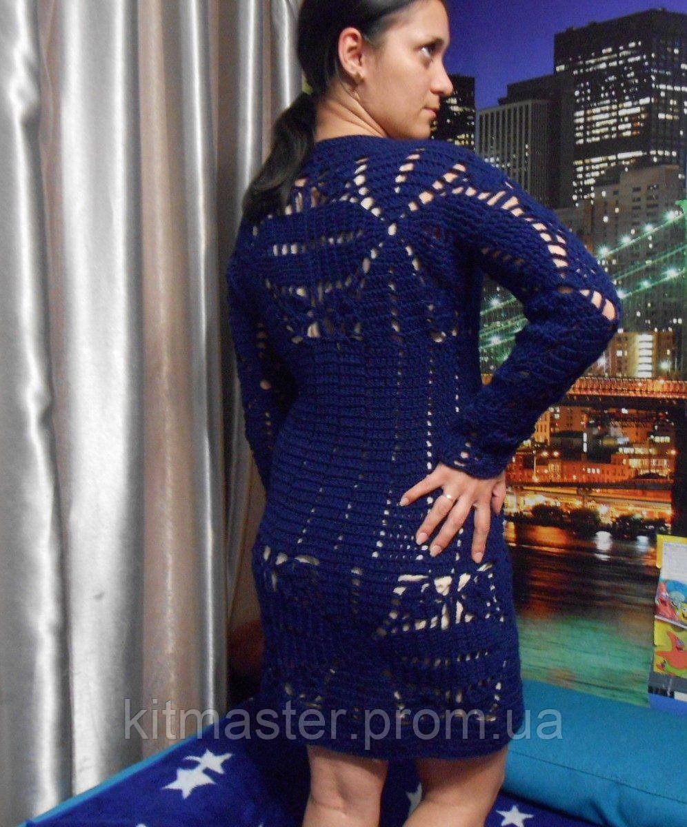 e46da3e040342 Платье летнее вязаное крючком - Интернет-магазин
