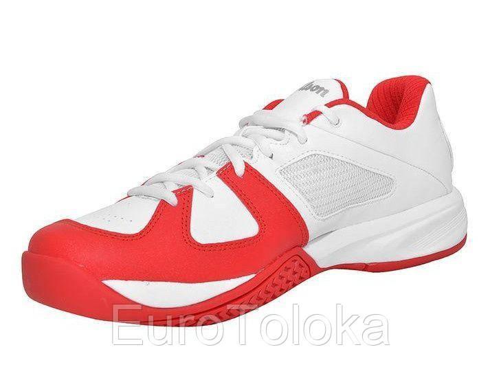 86036579 Кроссовки для большого тенниса мужские WILSON RUSH OPEN Бело/красный, цена  1 820 грн., купить Нововолынск — Prom.ua (ID#539383108)