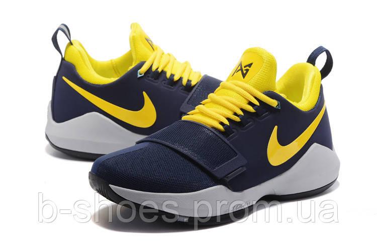 b56f2371 Мужские баскетбольные кроссовки Nike Zoom PG 1 (Pacers) купить в ...