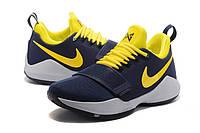 Мужские баскетбольные кроссовки Nike Zoom PG 1 (Pacers), фото 1