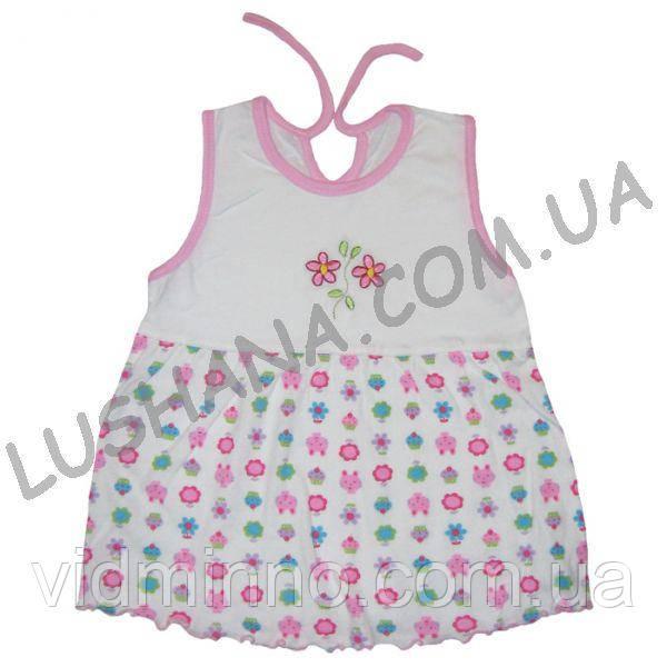 Платье Вероника на рост 68-74 см - Хлопок