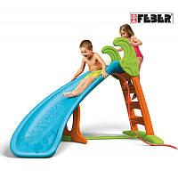 Горка детская с поворотом и водным эффектом Feber 08359