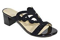Босоножки женские на маленьком каблуке Solange натуральная замша
