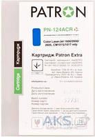 Картридж Patron HP CLJ Q6001A CYAN Extra (PN-124ACR)