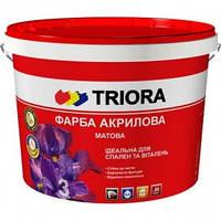 Акриловая краска Triora матовая, 1 л