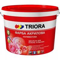 Акриловая краска Triora полуматовая, 3 л 3 л