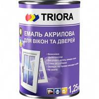 Акриловая эмаль Triora для окон и дверей, 0.4 л