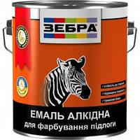 Алкидная эмаль для пола ПФ-266 Зебра, желто-коричневая, 0.9 кг 0,9 л