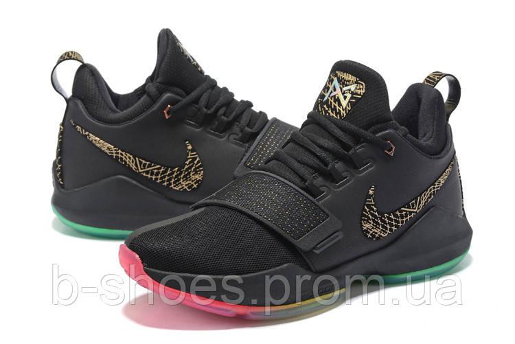 Мужские баскетбольные кроссовки Nike Zoom PG 1 (Black/Multicolor)