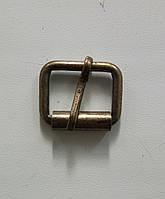 Пряжка литая 20 мм, антик