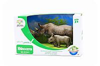 Фигурки «Королевство животных» - Семейство носорогов
