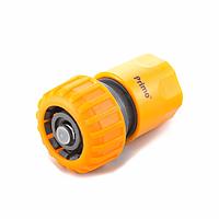 Коннектор аквастоп ¾ пластиковый 5820, 2 цвета (orange, green), диаметр 18 мм, упаковка 25 шт.