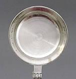 Коллекционная кружка, пивной бокал, керамика, оловянная крышка, Германия, фото 9