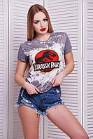 Оригинальная футболка с принтом BOY-2 ТМ Glem 44-48 размеры
