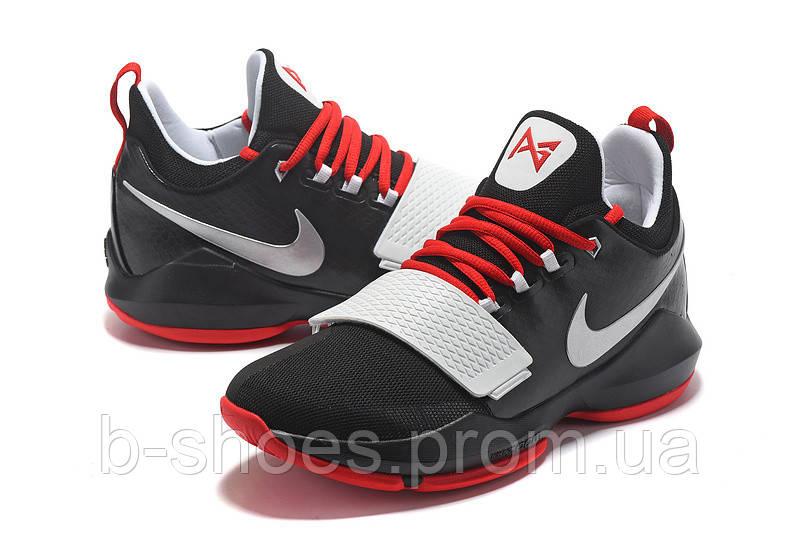 Мужские баскетбольные кроссовки Nike Zoom PG 1 (Black/Red/White)